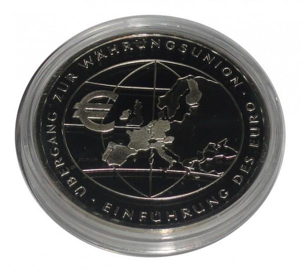 BRD: 10 Euro Silber - Gedenkmünze Währungsunion 2002 Polierte Platte
