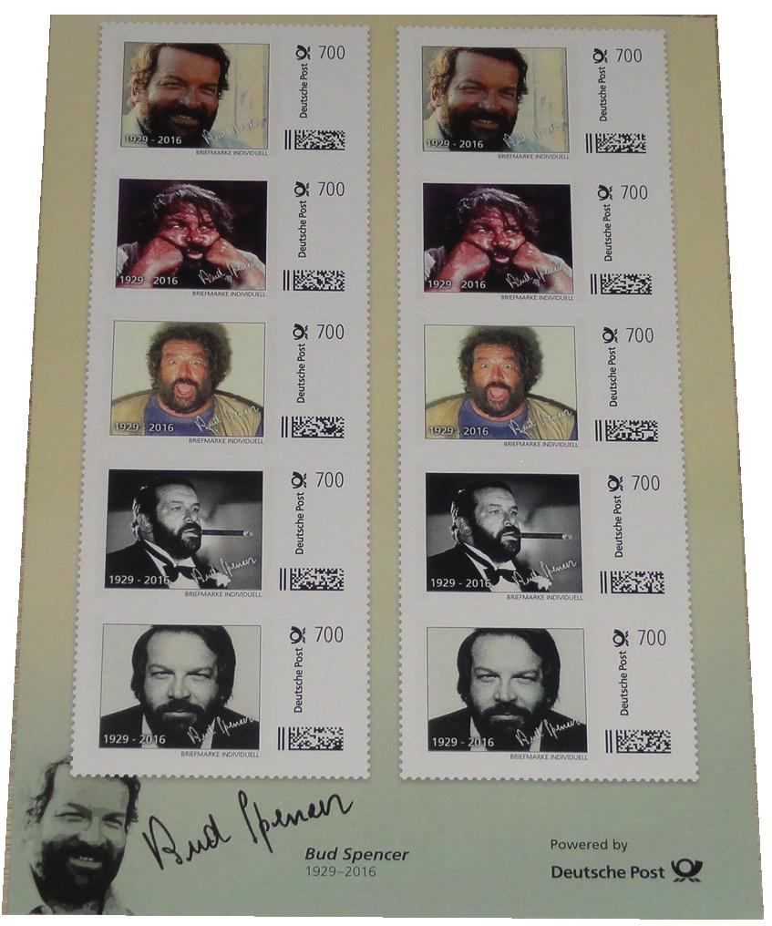 Bud-Spencer-Briefmarken-10-x-7-Euro-Briefmarkenbogen