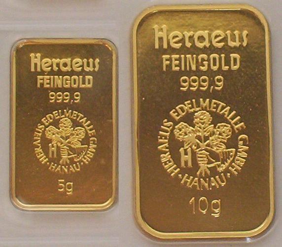 5-und-10-gr-goldbarren-heraeus