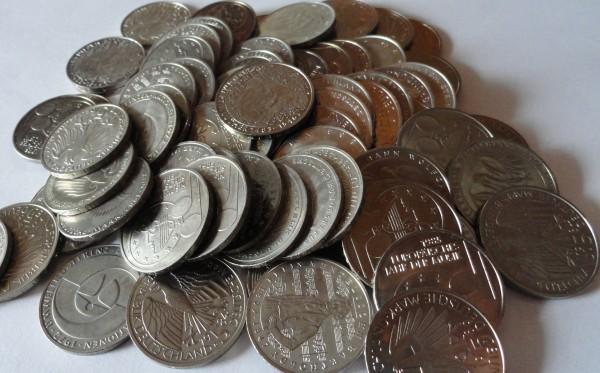 SONDERANGEBOT ! BRD 5 DM Münzen ab 1980 zum Umtauschkurs