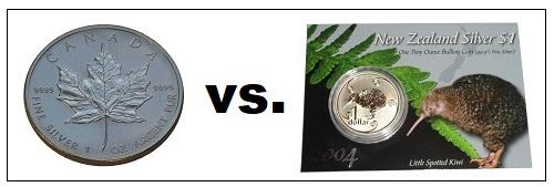 Anlagemunze-Maple-Leaf-Sammlermunze-Kiwi