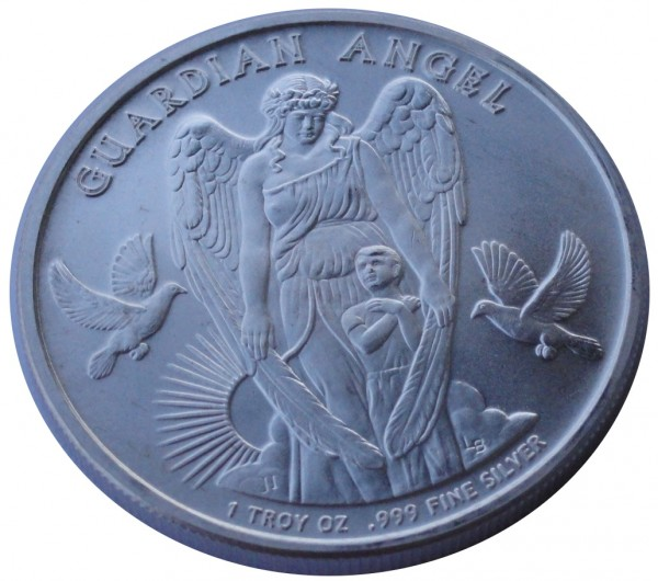 Niue 1 Oz Silber Guardian Angel Schutzengel 2017