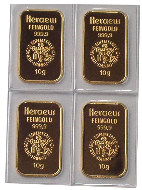 Goldbarren-Heraeus-10-gr