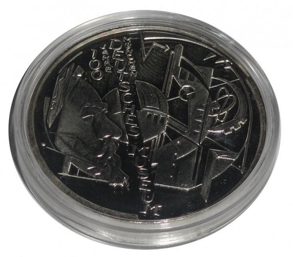 BRD: 10 Euro Silber Gedenkmünze 100 Jahre Deutsches Museum München 2003 Polierte Platte
