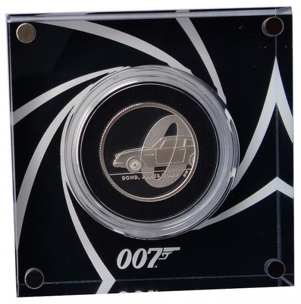 1/2 Oz Silber James Bond 007 Aston Martin DB5 - 1 Pounds Großbritannien