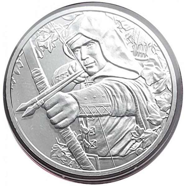 Österreich 1 Oz Silber Robin Hood 825 Jahre Münze Wien 2019 im Blister