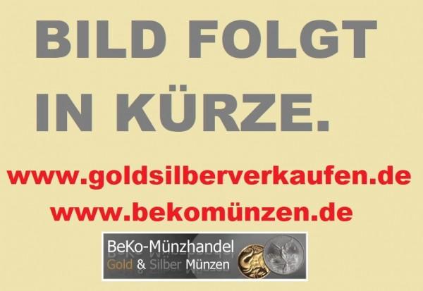 BRD: 10 DM Silber Gedenkmünzen 1987 - 1997 in Münzkapseln