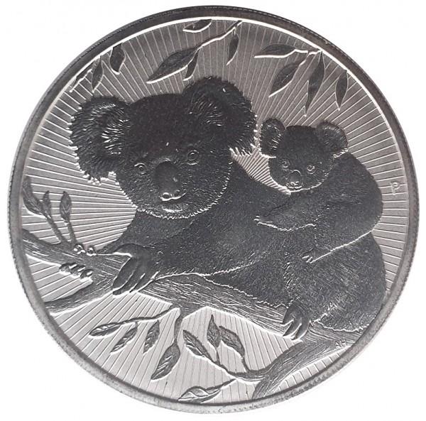 2 Oz Silber Next Generation Koala Piedfort 2018 Anlagemünze Australien