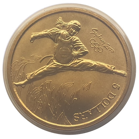 Australien 5 Dollars Sydney 2000 Olympic Games Judo