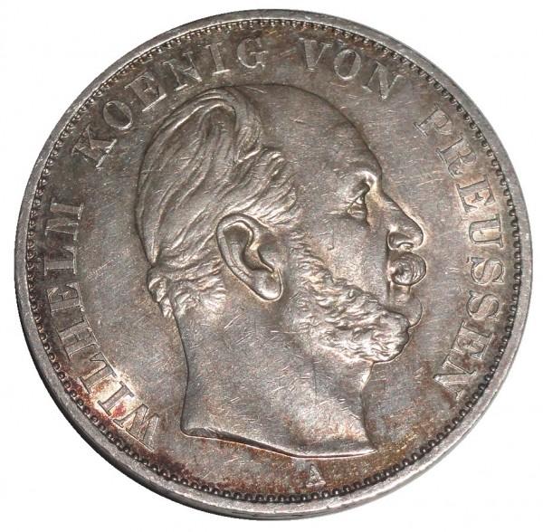 Brandenburg-Preußen Sieges-Thaler A Silber 1871 König Wilhelm I