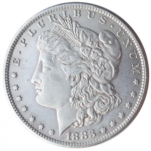 USA Morgan Dollar Silber 1883 O New Orleans - TOP ERHALTUNG!