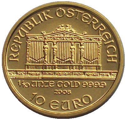 Osterreich-10-Euro-Goldmunze-Wiener-Philharmoniker