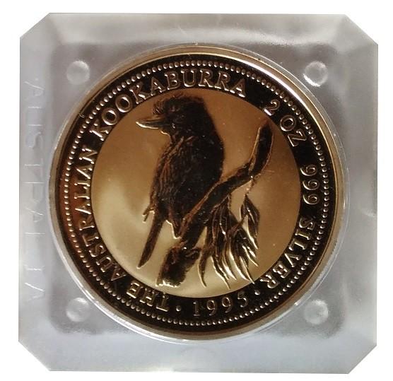 Australien 2 Oz Silber Kookaburra 1995 Silber - Anlagemünze