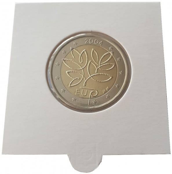 2 Euro Finnland 2004 EU - Erweiterung Bankfrisch im Münzrahmen