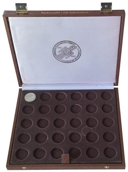 Lindner Münzkassette für 60 x 5 DM Gedenkmünzen Deutschland ohne Münzen