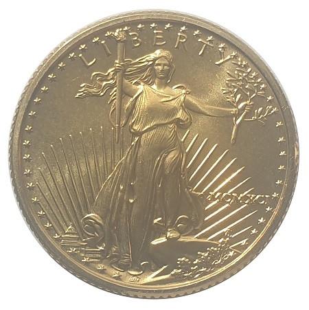 1/4 Oz Gold American Eagle 10 Dollars Goldmünze USA