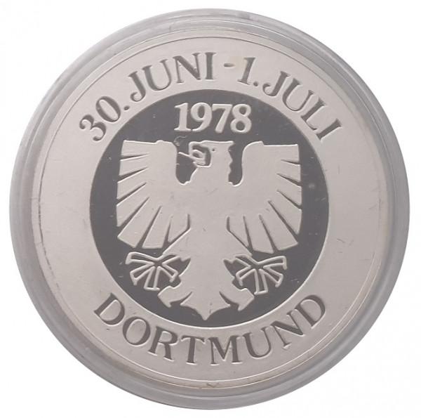 Silbermedaille Dortmund 1978 Leichtathletik Länderkampf UdSSR