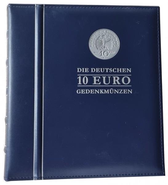 Sammelalbum mit 33 x 10 Euro Silbermünzen aus Deutschland 925/1000 Silber