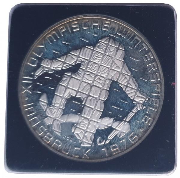 Österreich 100 Schilling Silber Proof Olympische Winterspiele Insbruck 1976