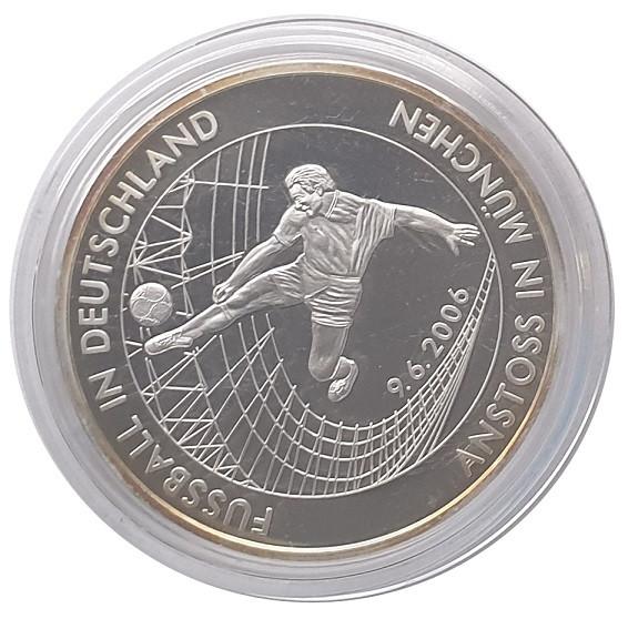 Silbermedaille 20 gr 999/1000 Silber - Anstoss in München Fussball WM 2006