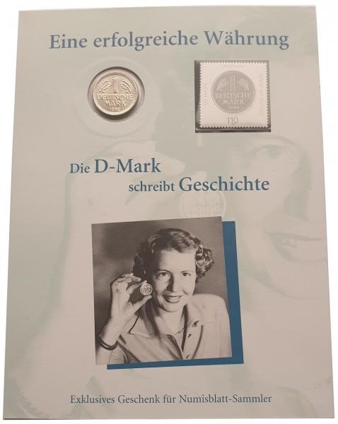 1 DM 50 Jahre Deutsche Mark Numisbrief Deutsche Post
