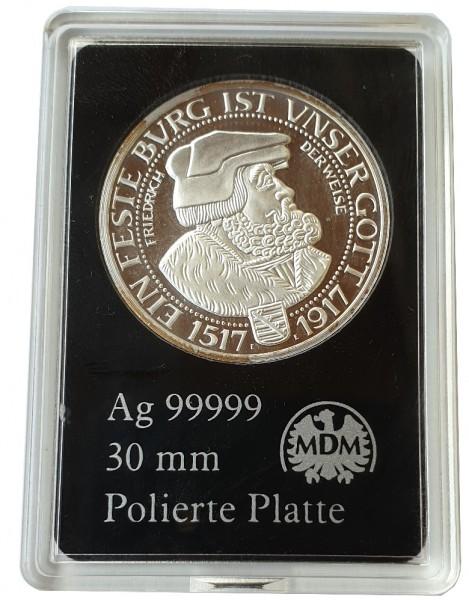 3 Mark Friedrich der Weise 2013 Silber Gedenkprägung - Silbermedaille MDM Münzkapsel