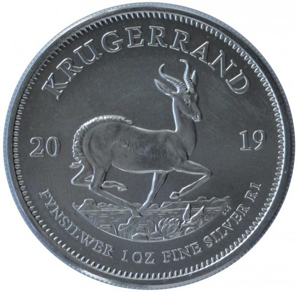1 Oz Silber Krügerrand 2019 BU Süd Afrika