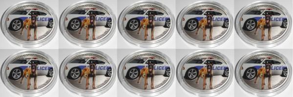 Niue 10 x 1 Oz Silber Belgian Malinois / Belgischer Schäferhund 2016 Münzkapsel + Zertifikat