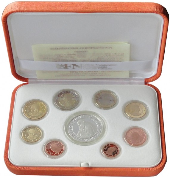 Vatikan 23,88 Euro 2016 PP. KMS Papst Franziskus mit 20 Euro Silbermünze