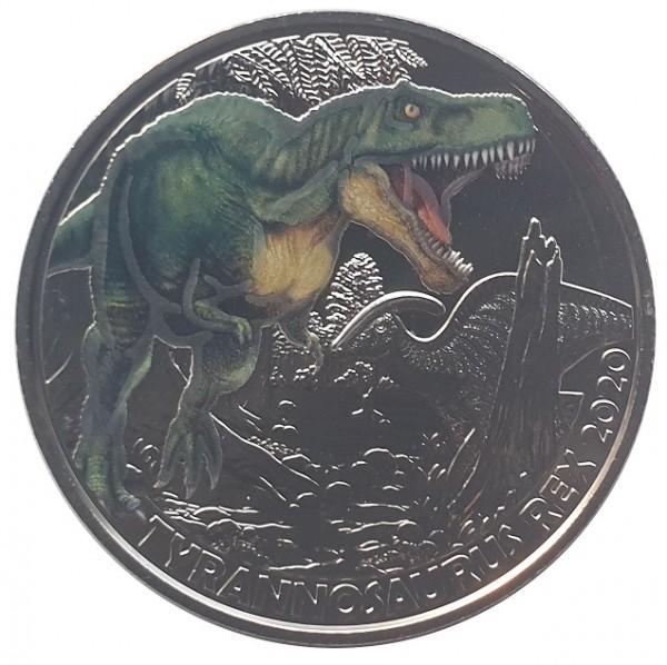 3 Euro Tyrannosaurus Rex 2020 - Dino-Taler-Serie aus Österreich Dinosaurier