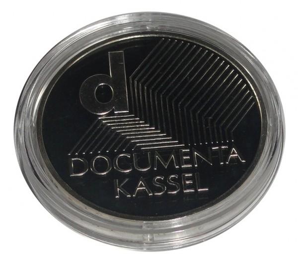 BRD: 10 Euro Silber Gedenkmünze Dokumenta Kassel 2002 Polierte Platte