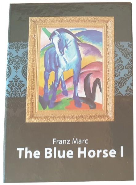 Salomonen 1 Dollar Münze Das blaue Pferd I von Franz Marc 2015