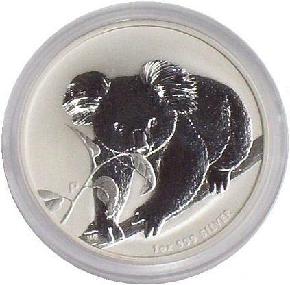 Australien 1 Oz Silber Koala 2010