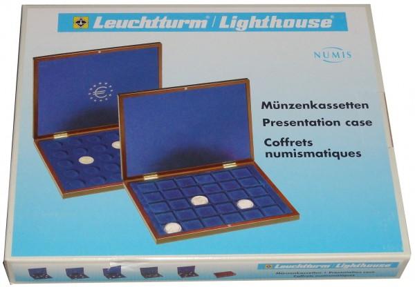 LEUCHTTURM Münzkassette für 13 x 2 Euro Römische Verträge