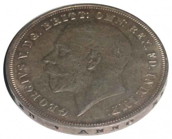 Großbritannien 1 Crown Silbermünze George V 1935