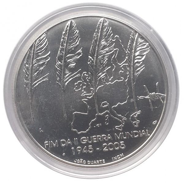 8 Euro Silber 2005 Portugal - 60 Jahre Frieden und Freiheit