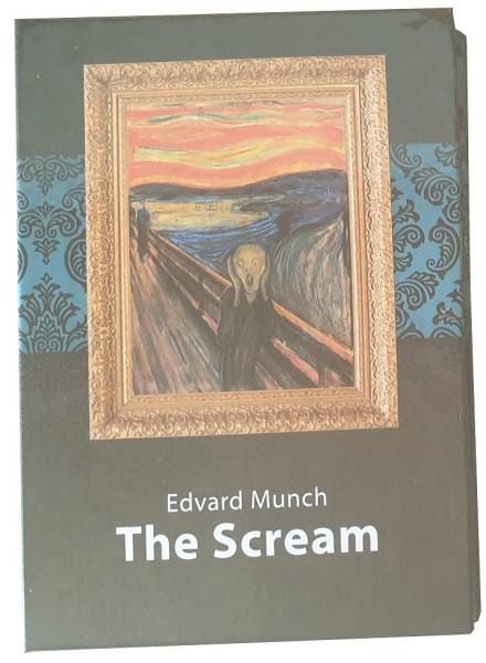 Salomonen 1 Dollar Münze Der Schrei von Edvard Munch 2014