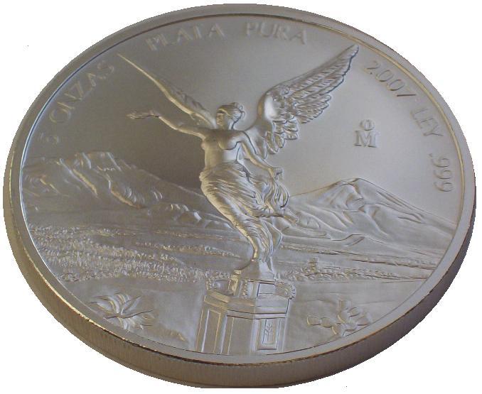 Mexico-5-Oz-Silber-Libertad-Siegesgottin