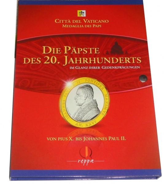 Sammelalbum Die Päpste des 20. Jahrhunderts Im Glanz ihrer Gedenkprägungen