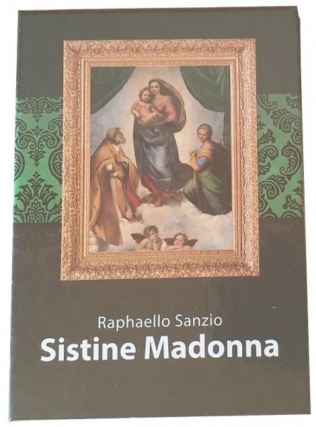 Salomonen 1 Dollar Münze Die sixtinische Madonna von Raphaello Sanzio 2015