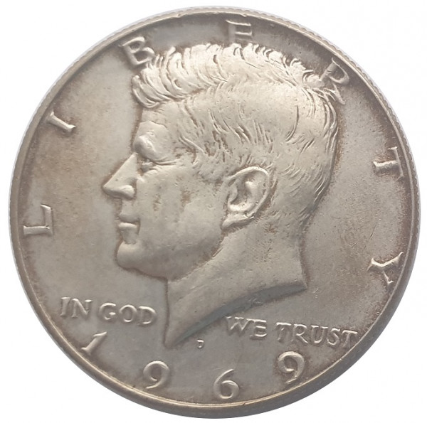 Half Dollar Kennedy Silber diverse Jahrgänge USA 11,5 gr 400/1000 Silber