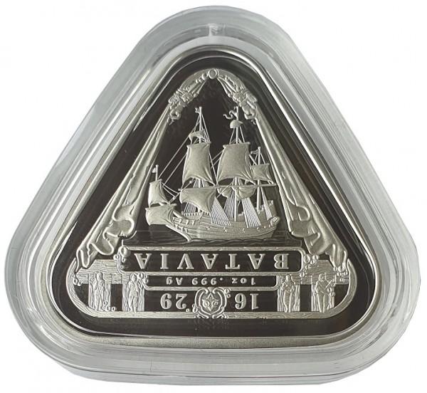 1 Oz Silber Batavia Schiffswrack Serie - Erste Dreieckige Anlagemünze aus Australien