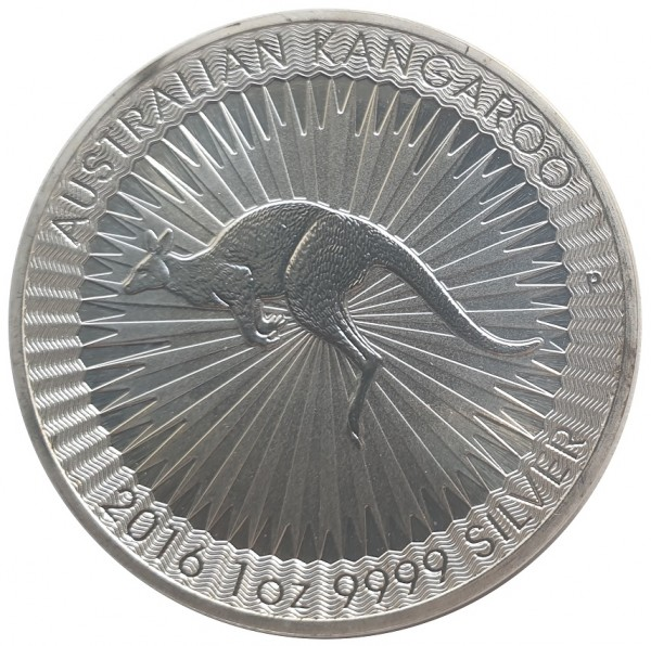 1 Oz Silber Känguru 2016 Perth Mint Australien - Anlagemünze