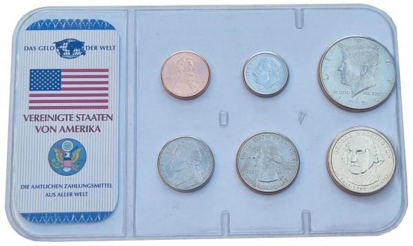 USA das Geld der Welt - Die Kursmünzen der Vereinigten Staaten von Amerika
