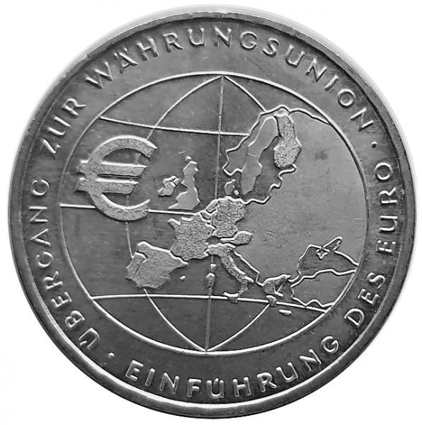 BRD: 10 Euro Silber - Gedenkmünze Währungsunion 2002 Bankfrisch