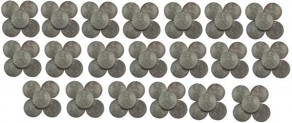 Anlagepaket ! 100 x Österreich Maria Theresia Taler Silber 1780 NP