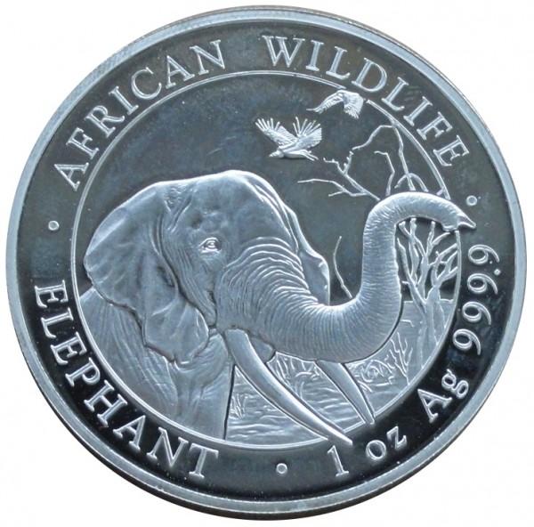 Somalia 100 Shillings 1 Oz Silber African Wildlife 2018