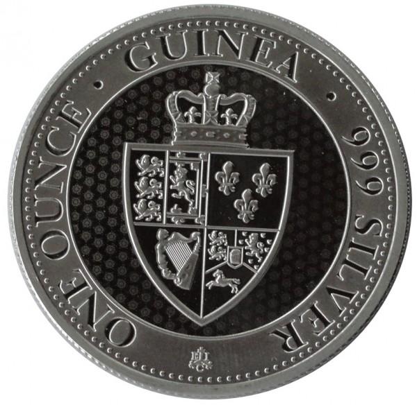 1 oz Silber Saint Helena - The Spade Guinea 2019 East India Company