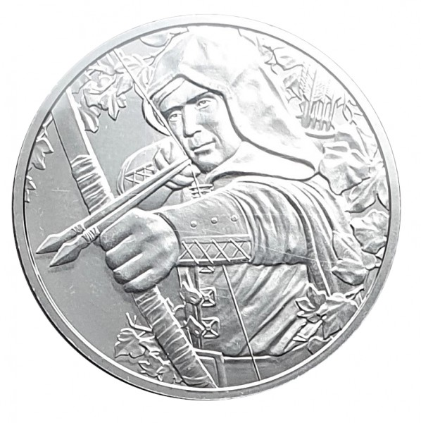 Österreich 1 Oz Silber Robin Hood 825 Jahre Münze Wien 2019