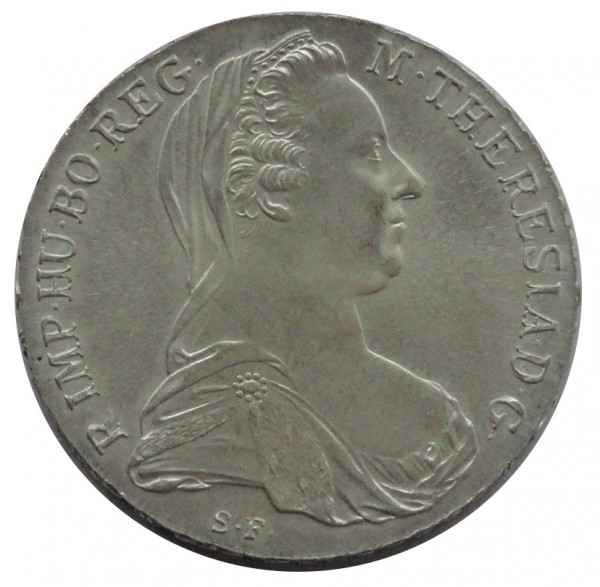 Österreich Maria Theresia Taler Silber 1780 NP